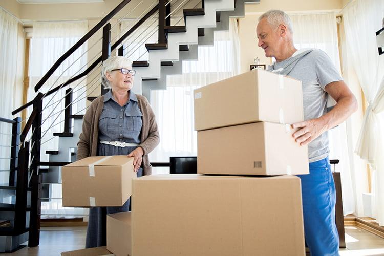 moving into Senior Living